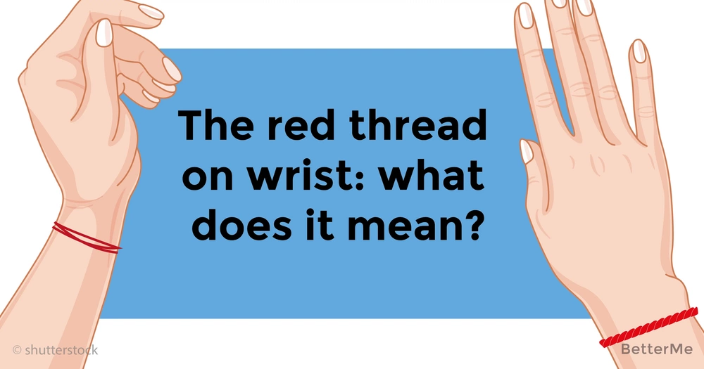 Why some people tie a red thread on their left hand