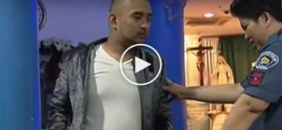 Drunken Pinoy taxi passenger violently attacks reporters and cops in Makati precinct