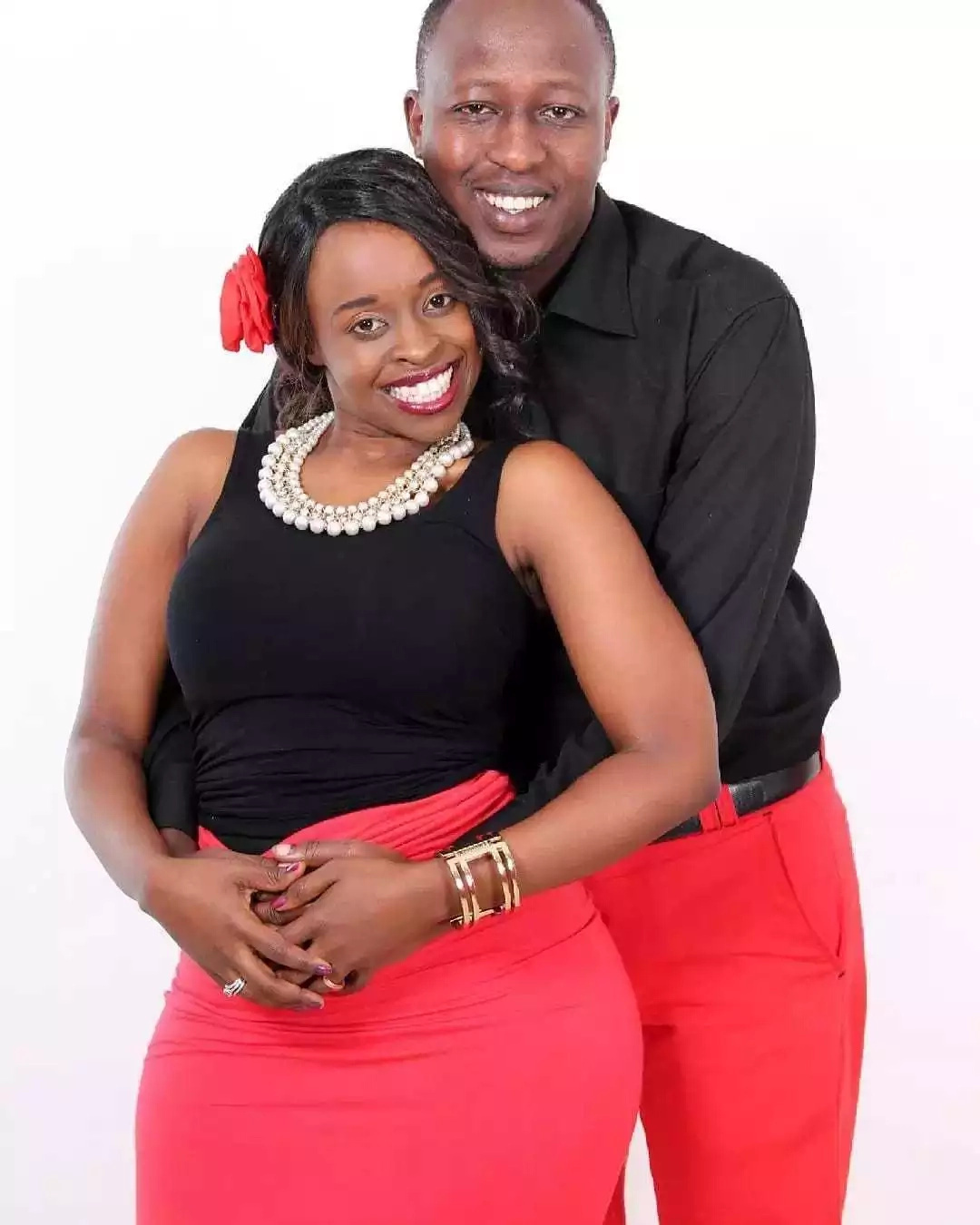 Former NTV host shocks Kenyans by posting CUTTING video of her just before giving birth(video)