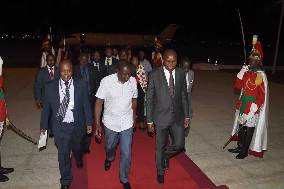 Organisers had said Uhuru would speak at the forum