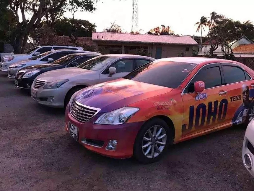 The 'truth' about the narcotics-carrying car branded in Joho's name as told by his 'son'