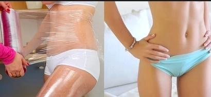 Cómo perder grasa del vientre con Saran Wrap: Tips y efectos secundarios