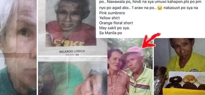 Worried BFF seeks your help to find epileptic father of friend who disappeared at Batasan Commonwealth