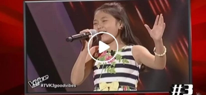 Pinay kid from Parañaque finishes in top 3 of best 'The Voice Kids' auditions