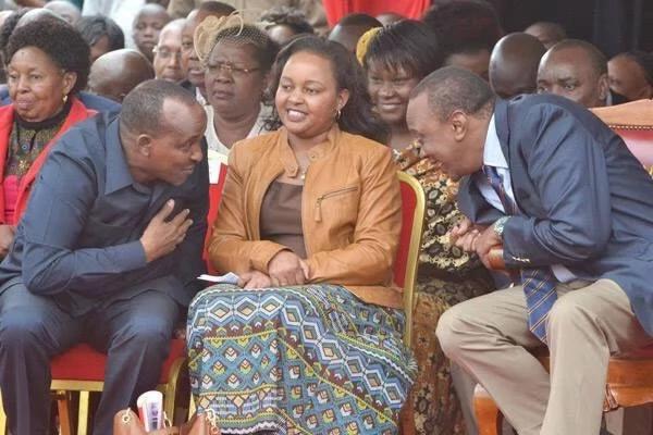 Waiguru is intimidating Uhuru to escape NYS scandal says Murkomen