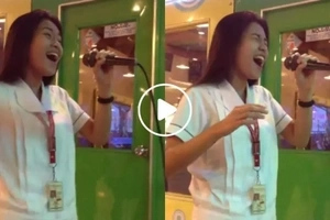 Pinay student sings 'Through The Fire' in a karaoke and netizens are left speechless