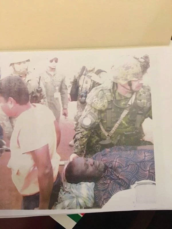 Wounded Riek Machar rescued by UN forces (photos)