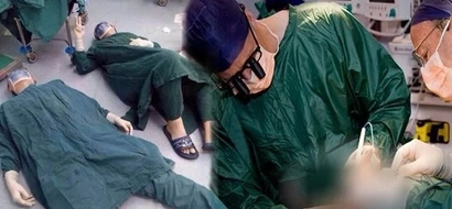 These doctors collapsed on the floor at the end of the surgery because of this horrific reason!