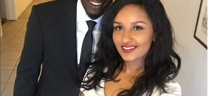 Kenya's hottest international footballer proposed to this sexy Tanzanian woman