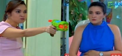 Netizens gush over 'Ika-6 na Utos' episode where Georgia points water gun at Emma