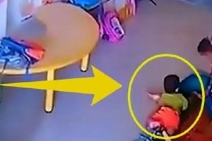 Una asistente de guardería abofeteó tan fuerte a una bebé que le fracturó el cráneo