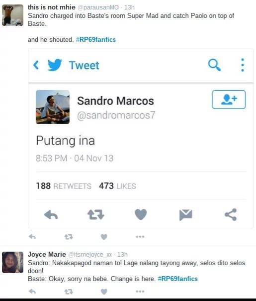 ENJOY: Sex scenes of Baste Duterte, Sandro Marcos and Jake Ejercito?