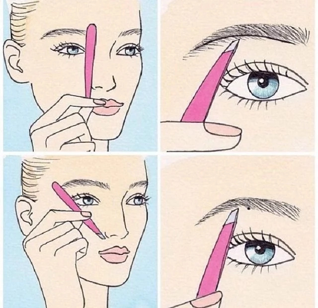 How To Shape Your Eyebrows Step By Step Guide
