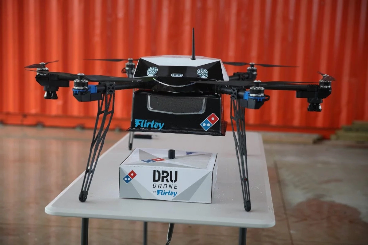 Domino's Pizza will deliver pizza by drone!