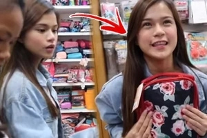 '#Sistergoals kami ngayon!' Maris Racal takes sister to a 'back-to-school' shopping spree and she's certainly having a blast!