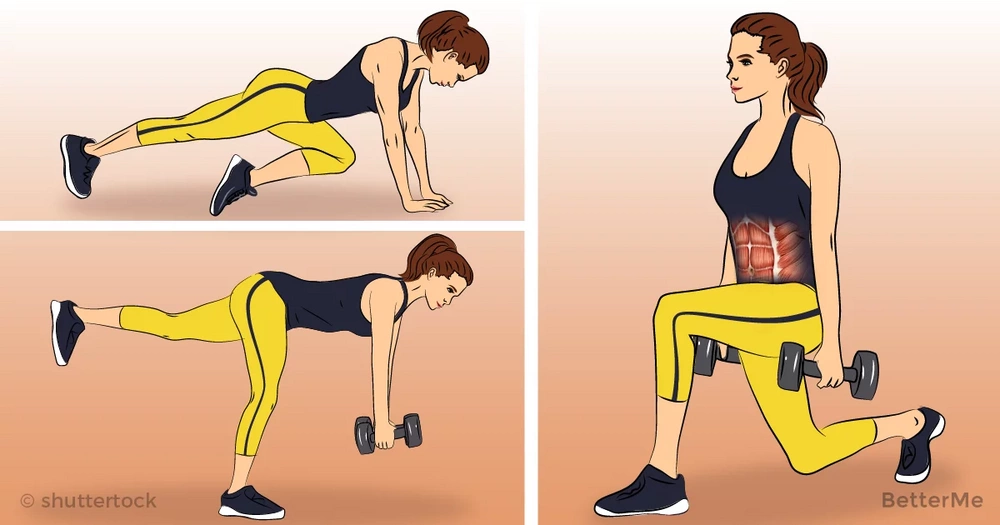 15-minute workout that can help reduce muffin top