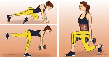 15-minute workout to reduce muffin top