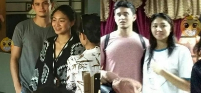 JaDine spends the holiday catching some waves in La Union
