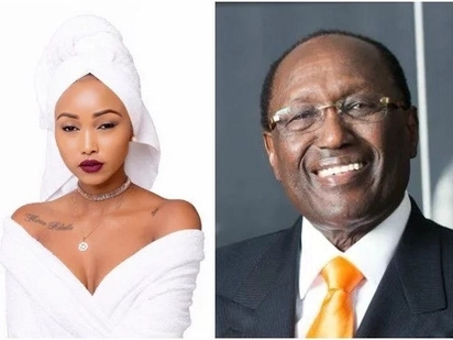 Not every rich man is a thief – socialite Huddah Monroe viciously defends ailing billionaire Chris Kirubi