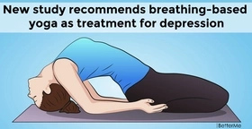 New study recommends breathing-based yoga as treatment for depression