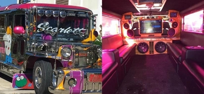 Inspiring OFW who used to work as a jeepney driver shows off multi-million peso jeepney with WiFi and aircon