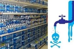 Casi TODA el agua mineral embotellada está LLENA de fluoruros. Aquí está la lista completa de marcas a EVITAR
