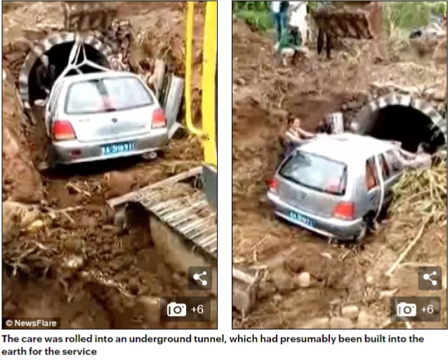 Man loved his car more than anything, that instead of a coffin, he was buried inside his vehicle when he died