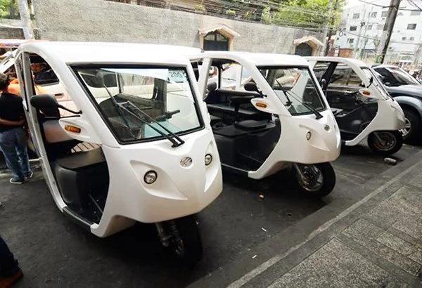 Estrada pushes for e-trike program in Manila