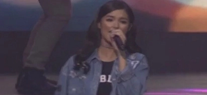 Is Liza Soberano lip syncing at the #ChooseLoveTheConcert?