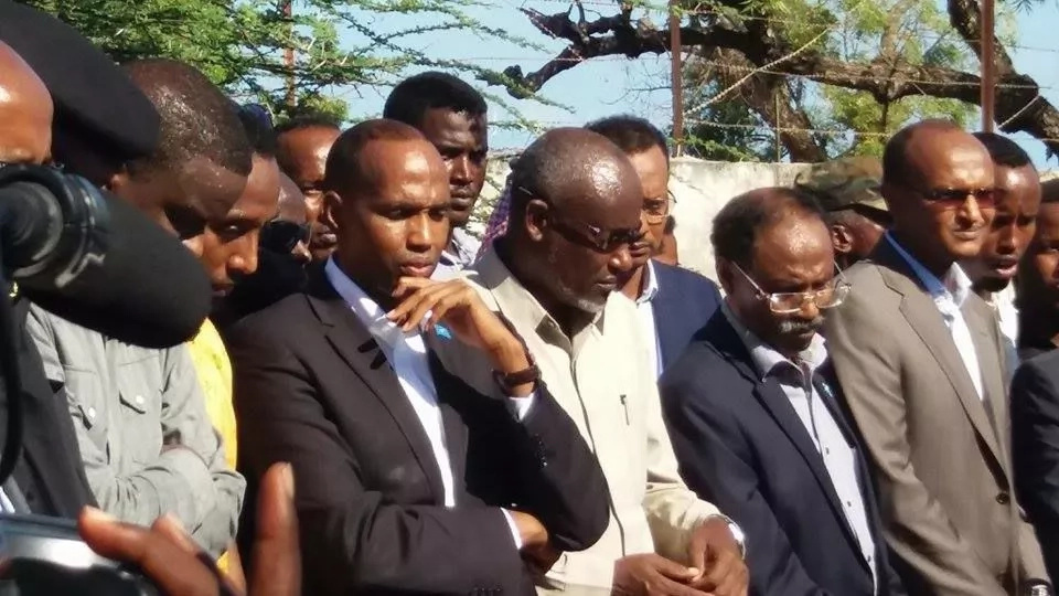 Burial of Somali minister