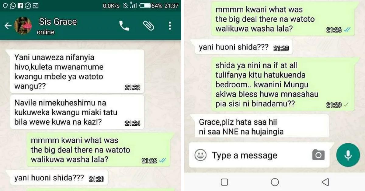 Uhasana baina ya madada wasababisha ngumi, kisa ni dume aliyeletwa nyumbani kwa mwingine