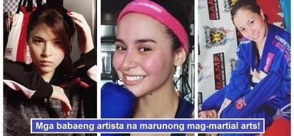 Mga babaeng palaban! 7 Famous Filipina celebrities who know martial arts