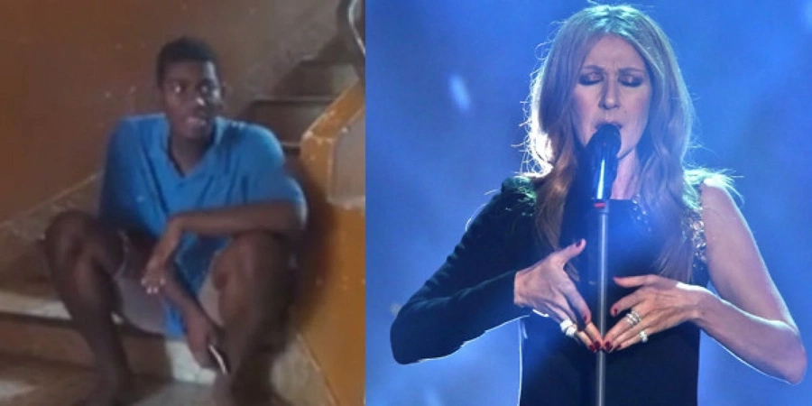 """Celine Dion shared teenage boy's video of """"The Power of Love"""""""