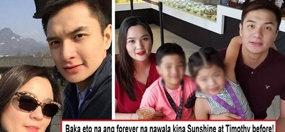 Tuloy na ang naudlot na forever? Sunshine Dizon flies to the U.S. with ex Timothy Tan for a vacation