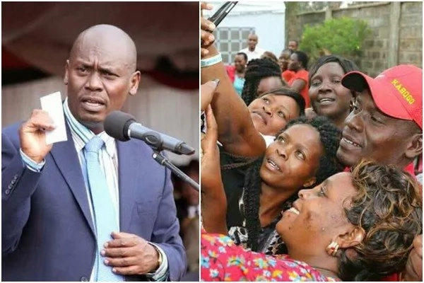 Outgoing Kiambu governor William Kabogo sued only hours after losing out to Waititu