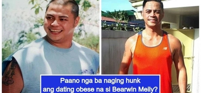From obese to hunk: Bearwin Meily's drastic physical transformation