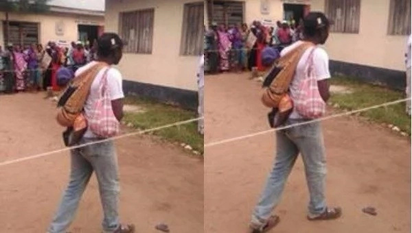 Ingenious ways Kenyans used in order to jump queues at the poling stations