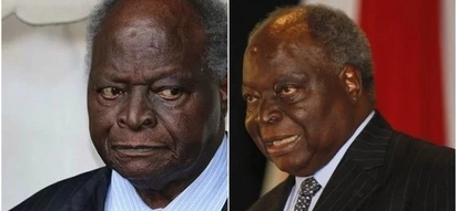 Kibaki admitted to hospital