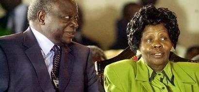 When Lucy Kibaki's body will arrive in Kenya from London