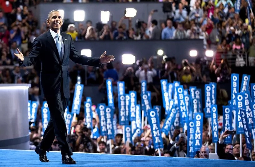 Barack Obama's speech at Democratic National Convention