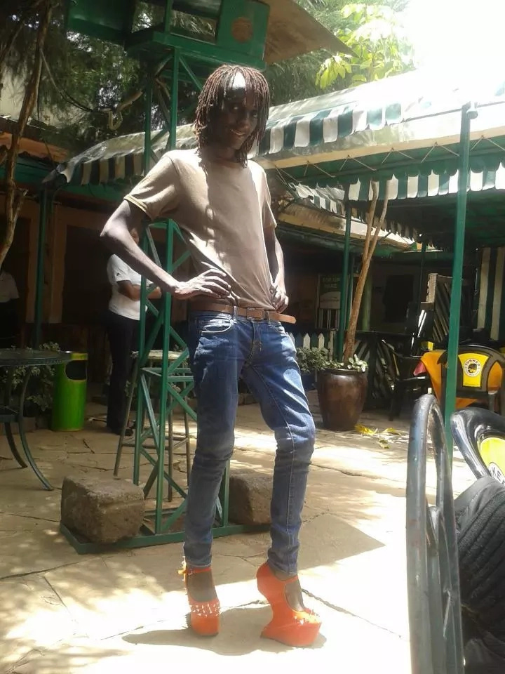 THEN AND NOW: Photos Of Kenya's Second Man To Change Into Woman