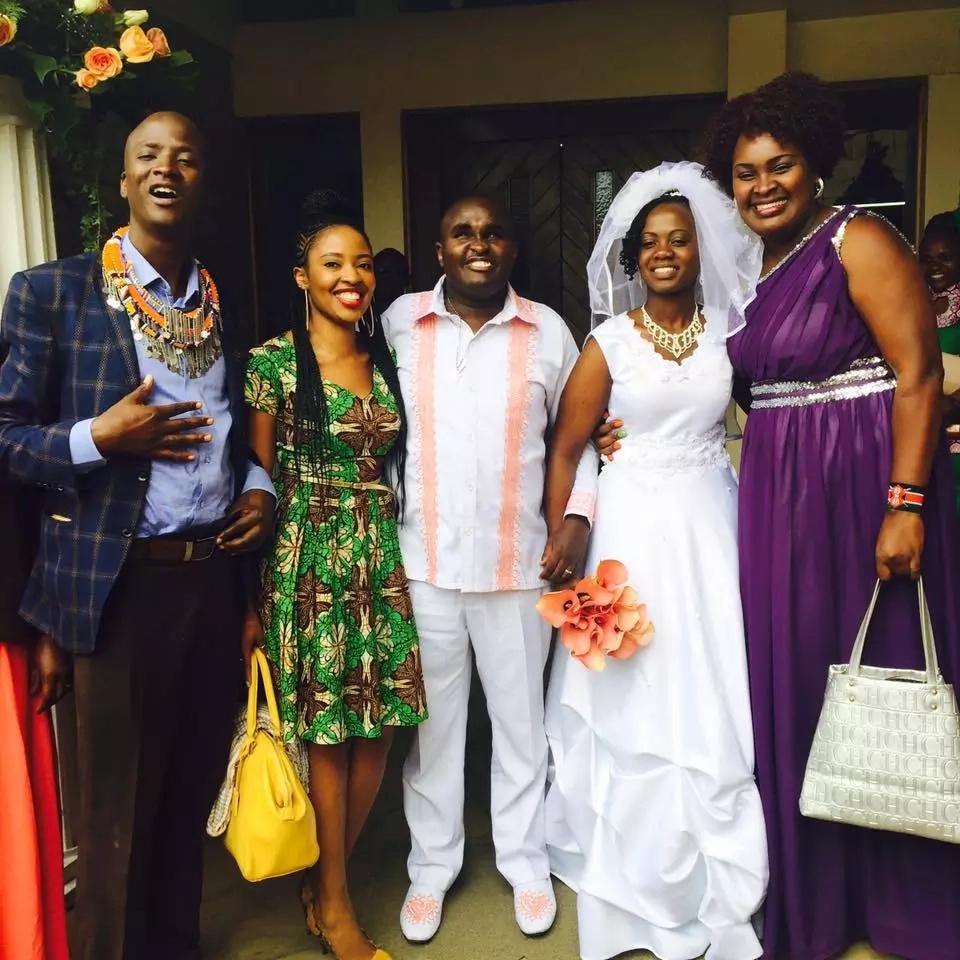 Celebrities attend gospel artist Denno wedding (photos)