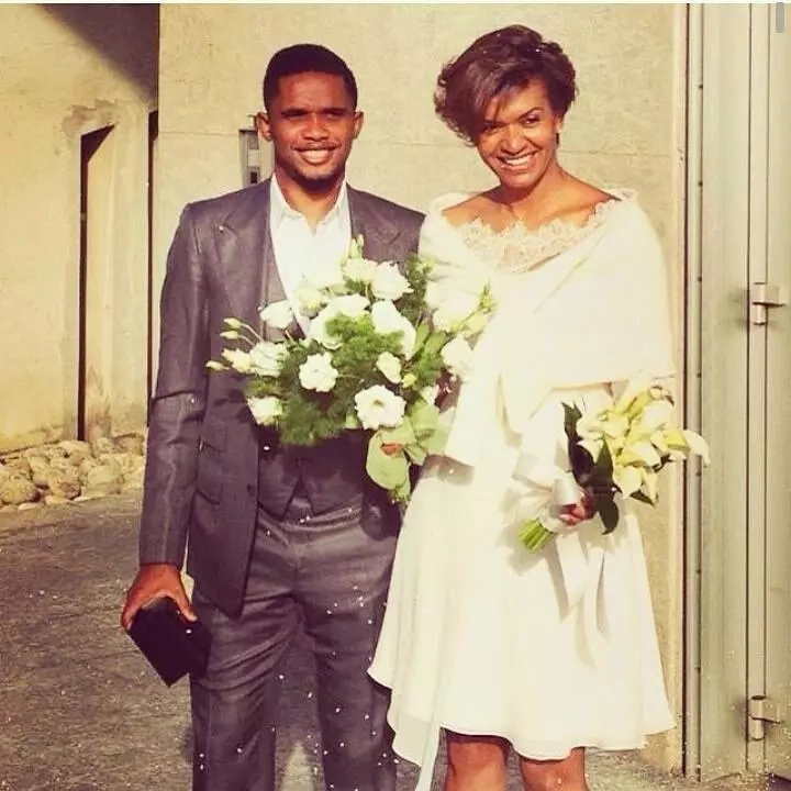 Samuel Etoo, wife stun crowd with their Italian wedding