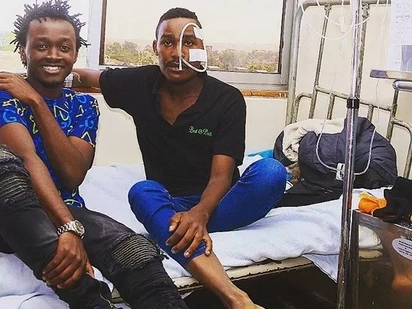 Singer Bahati finally meets his die hard fan suffering from cancer after an emotional appeal