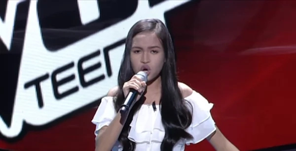 Four judges turned around to pick this talented teen who can sing insane high notes