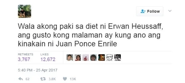 Juan Ponce Enrile vs. Erwan Heusaff: The Battle of the Fittest, A Competition Like No Other