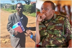 Former KDF Soldier sends a STERN message to Uhuru, asks him to prepare to leave State House