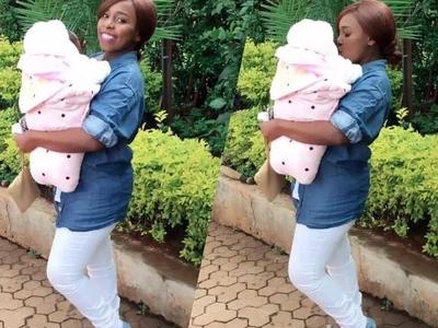 Mjukuu wa Sonko pia avalishwa nguo za Jubilee, apendeza mno (picha)