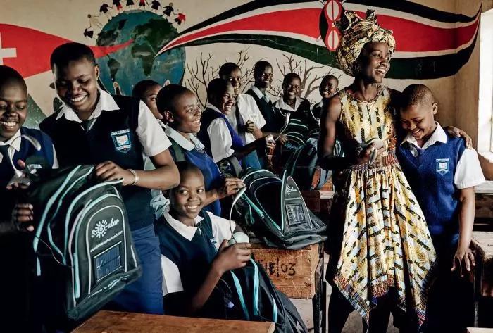 Lupita Nyongo brings Hollywood to her rural home