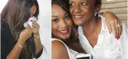 Zari Hassan cries to her fans as her mother's condition dips again